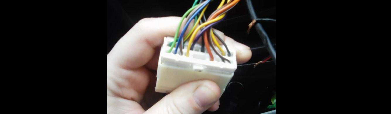 Распиновка проводов разъёма магнитолы Chevrolet Lanos 2