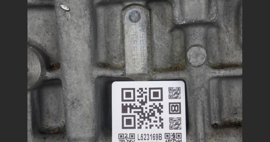 Номер двигателя на BMW E83