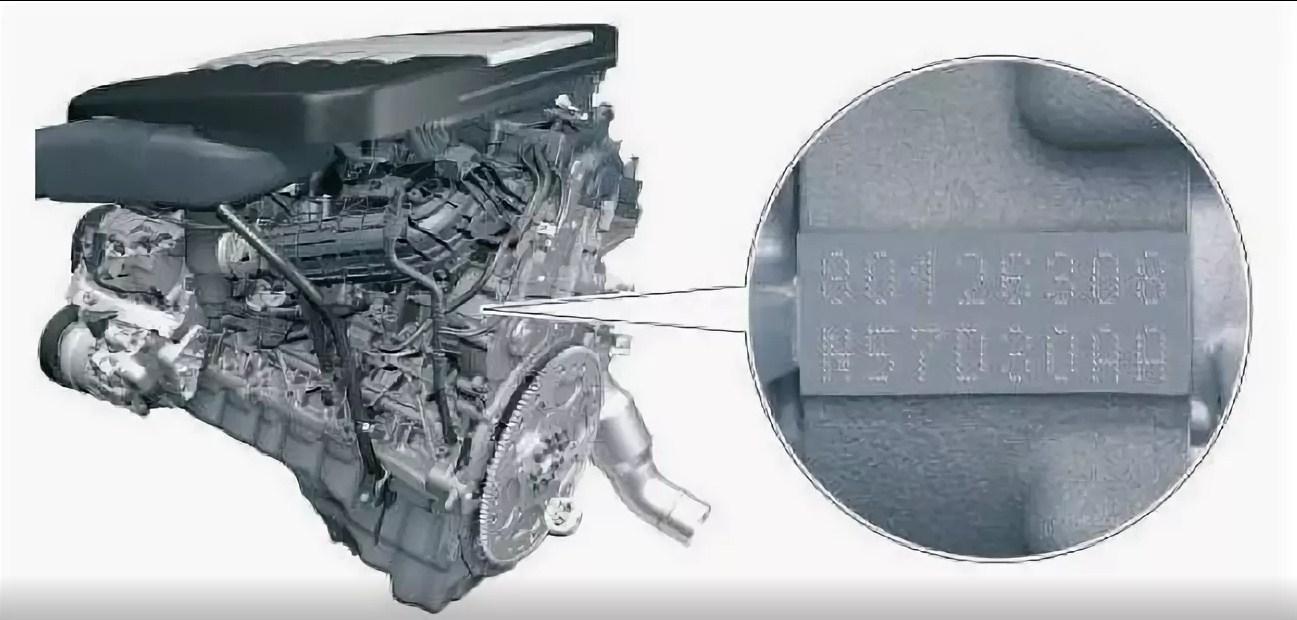Номер двигателя на BMW E90, E91, E92, E93