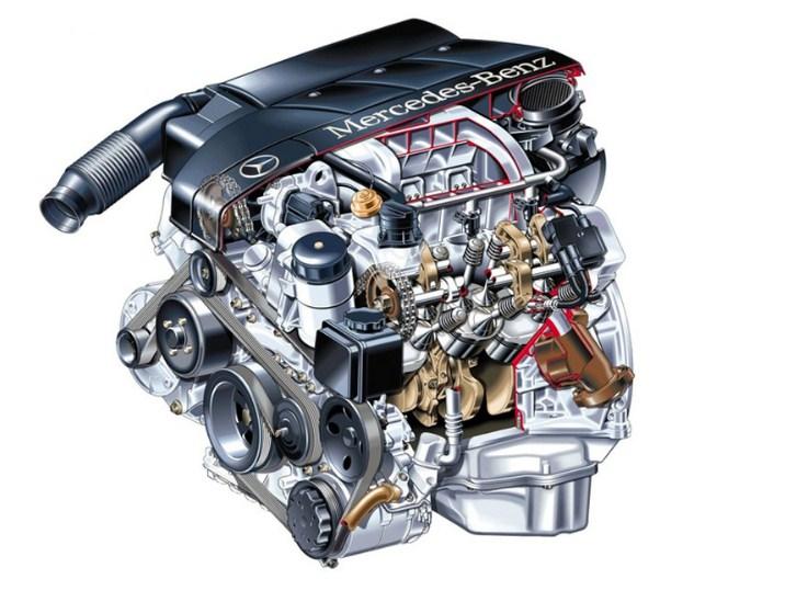 номер двигателя Mercedes